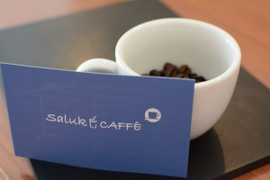 コーヒーとカード